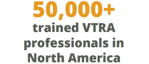 50,000+ trained VTRA professionals in North America